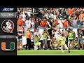 Florida State vs Miami Full Game | 2018 ACC Football