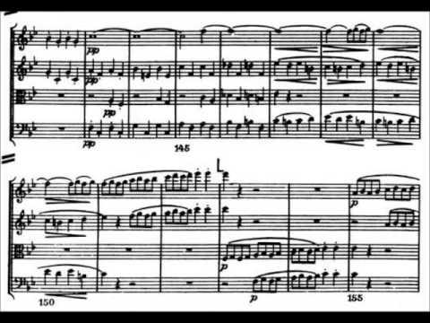 Beethoven String quartet no. 6 (op. 18, no. 6)