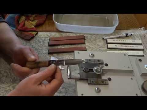Нож связиста(3 Рейх)-обзор,анализ и заточка.