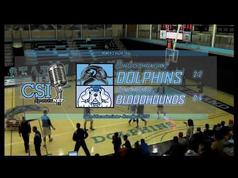 Men's Basketball vs. John Jay College
