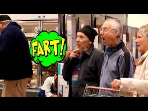 Funny Wet Fart Prank With The Sharter | Last Minute Christmas Shopping Trip.