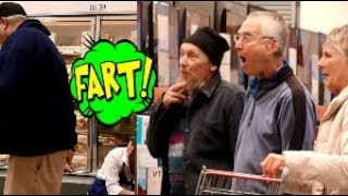 Funny Wet Fart Prank With The Sharter   Last Minute Christmas Shopping Trip.