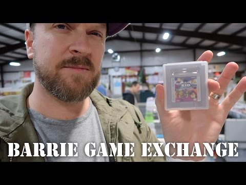 Barrie Game Exchange VLOG - Loads of Pickups! Rare Games... & GamerAlley