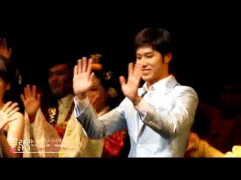 101212 Yunho Musical Goong in Daegu