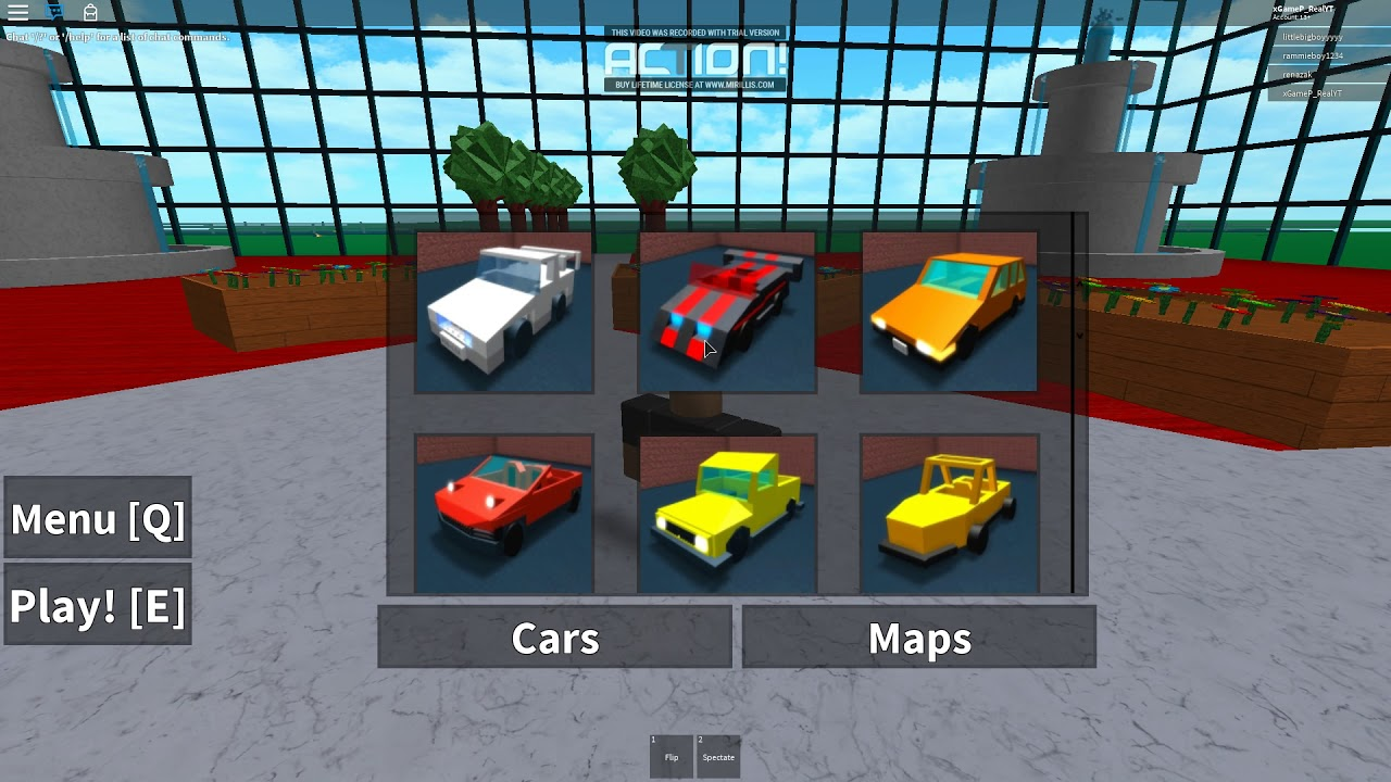 Car Car With Cars Car Crash Simulator Roblox Youtube