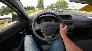 2018 LADA Priora 1.6L (106) POV Test Drive