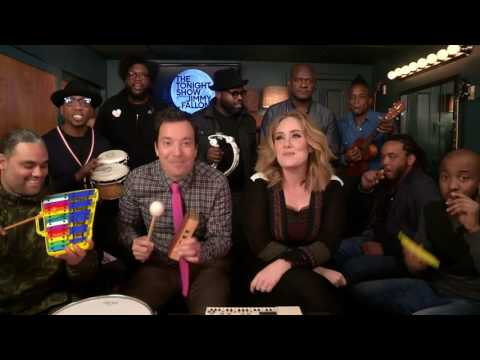 Jimmy Fallon, Adele & The Roots Sing 'Hello'