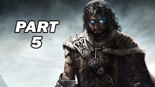 Middle Earth Shadow of Mordor Walkthrough Part 5 - The Amputator (PC 1080p Gameplay)