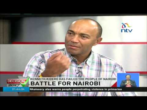 Peter Kenneth sets out his agenda for Nairobi County and denies being a project
