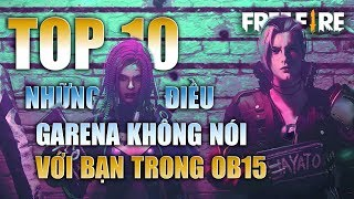 Free Fire | TOP 10 thứ GARENA không nói với bạn về Phiên Bản OB15 - PHẦN 2 | Rikaki Gaming