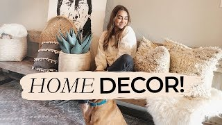 HOME DECOR UPDATES! Bohemian Modern Farmhouse