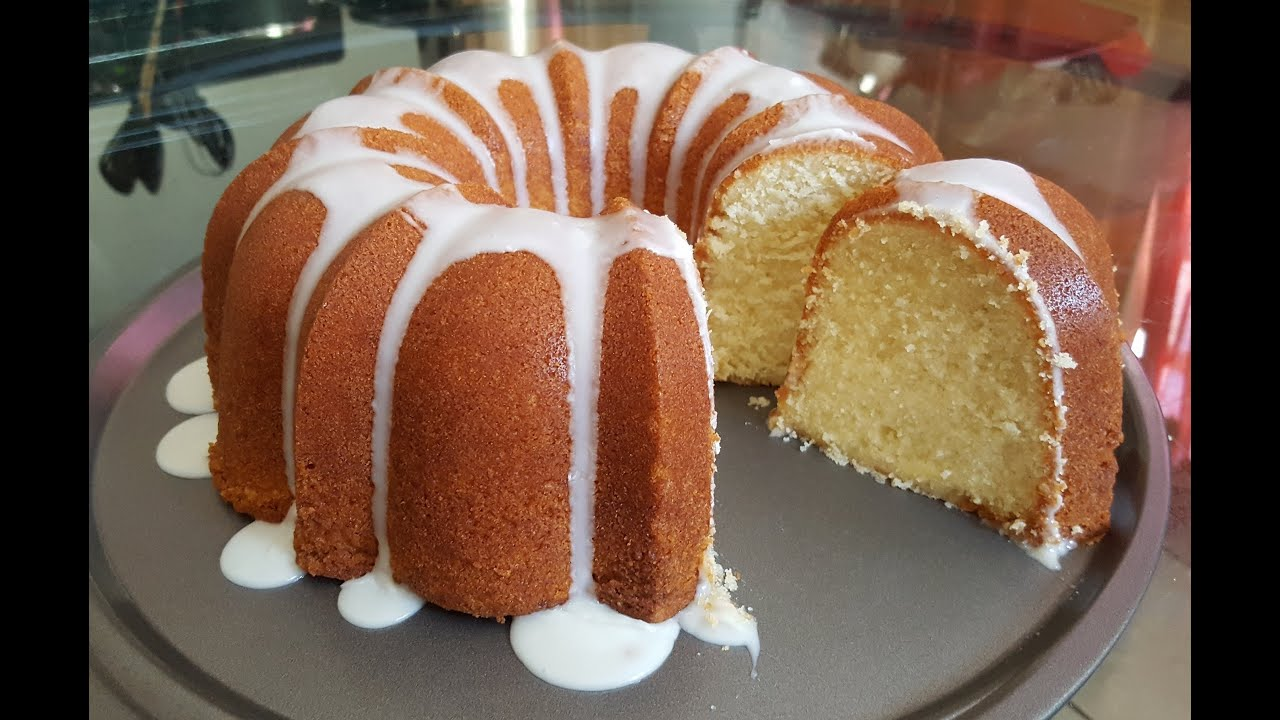 How To Make A 7up Pound Cake From Scratch Youtube