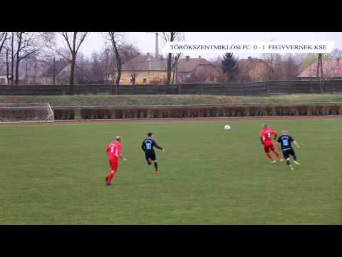 Törökszentmiklósi FC - Fegyvernek KSE 0 - 3  2017.03.18.