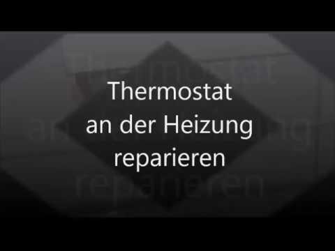heizung thermostat reparieren wechseln tauschen heizk rper defekt reperatur tutorial youtube. Black Bedroom Furniture Sets. Home Design Ideas