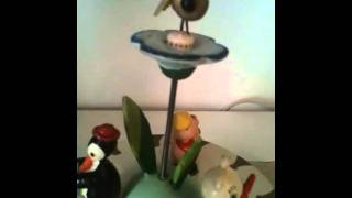 Vintage Animal Musicians Music Box And Lamp