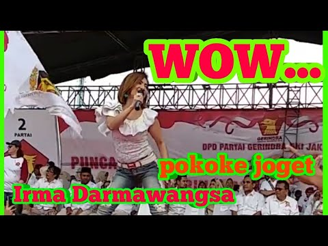 Pokoke Joget - Irma Darmawangsa hasil (live hut ke 10 partai gerindra)