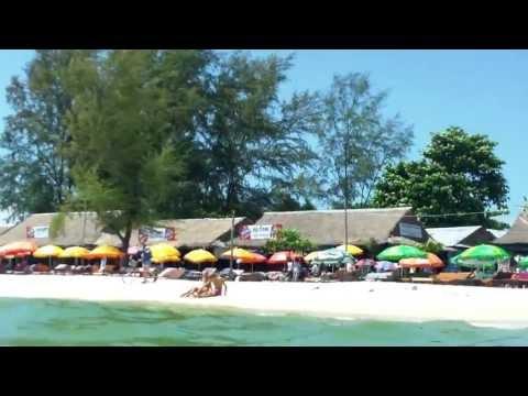 Ochheuteal beach, in sihanoukville - Cambodia's beach,ក្រុងព្រះសីហន