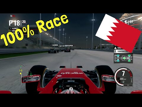 F1 2015 - 100% Race at Bahrain International Circuit, Sakhir in Räikkönen's Ferrari