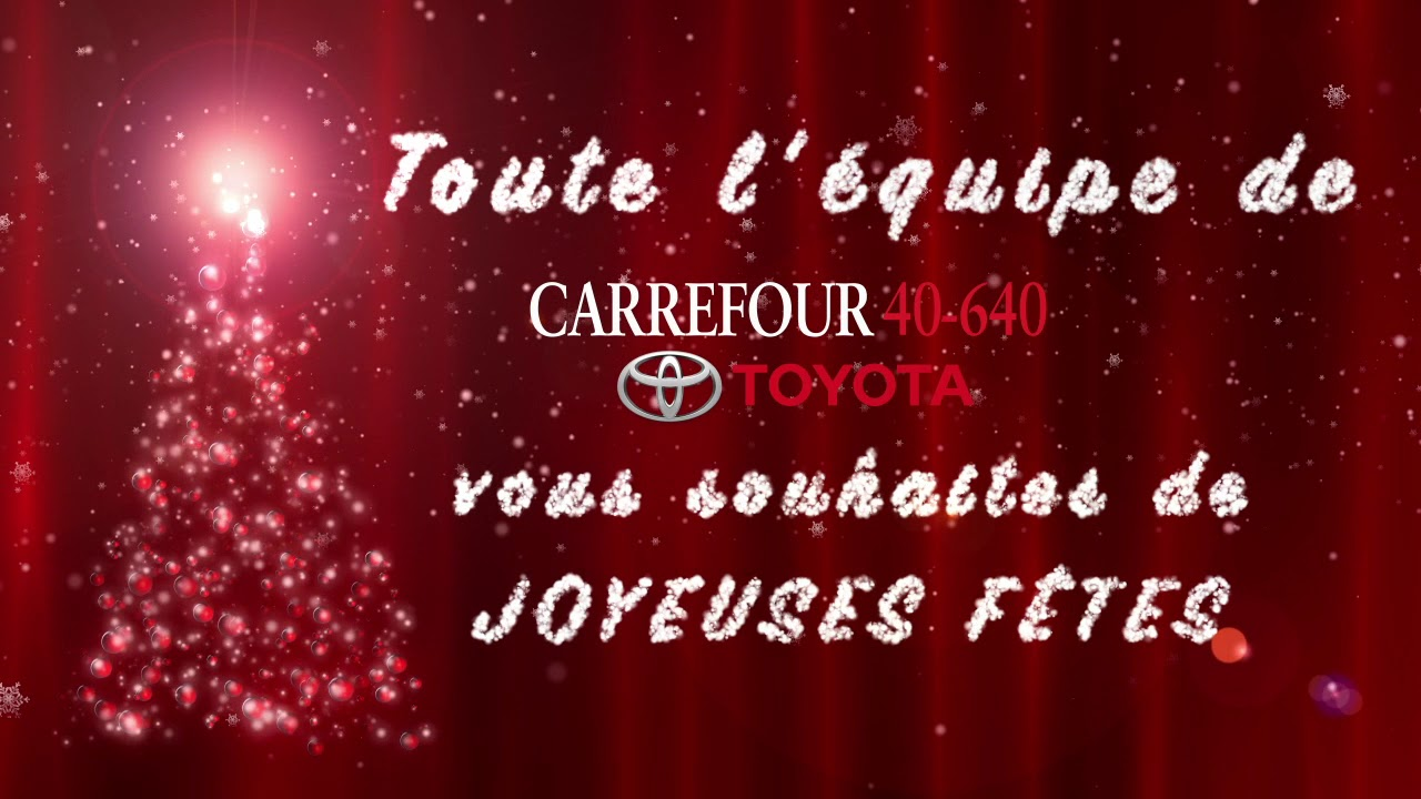 Carrefour 40 640 >> Joyeuses Fetes De Carrefour 40 640 Toyota 2018 2019 Youtube