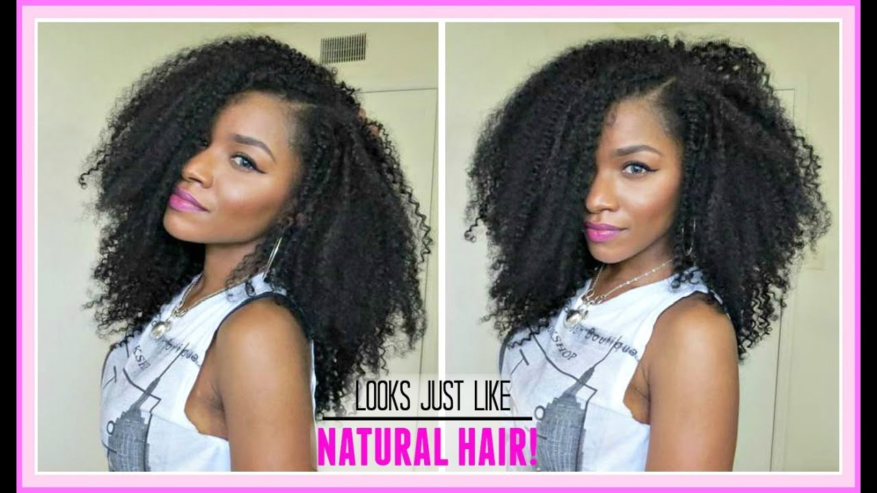 The best extensions for natural hair my kinky curly hair routine the best extensions for natural hair my kinky curly hair routineperfectlocks youtube pmusecretfo Images