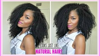 The Best Extensions for Natural Hair + My Kinky Curly Hair Routine│PerfectLocks