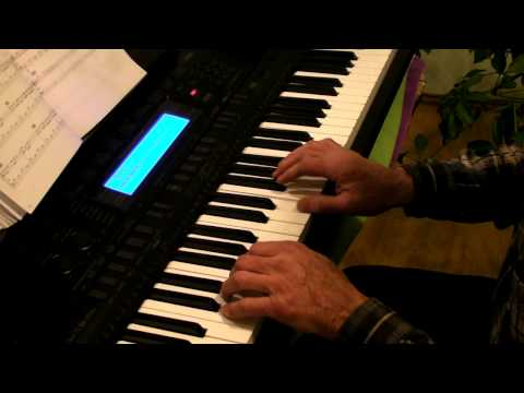 Piano 101: Christmas Medley by a beginner on CASIO WK-500