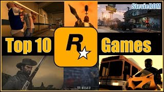 Top 10 Rockstar Games