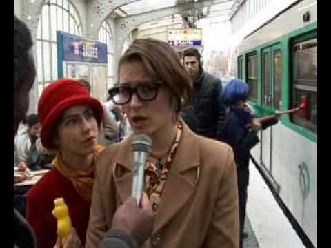 CIRQUE RAJ'GANAWAK ETAIT  DANS LE METRO PARISIEN LE 06/-02-2011