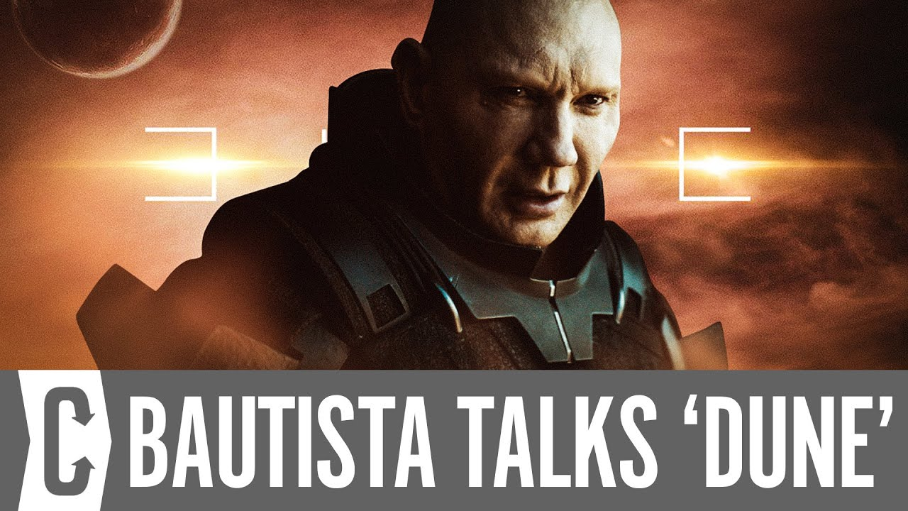 Dune: Dave Bautista on the Script and Getting Cast by Denis Villeneuve