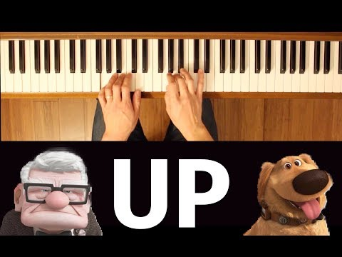 Up With Titles (Up) [Easy-Intermediate Piano Tutorial]