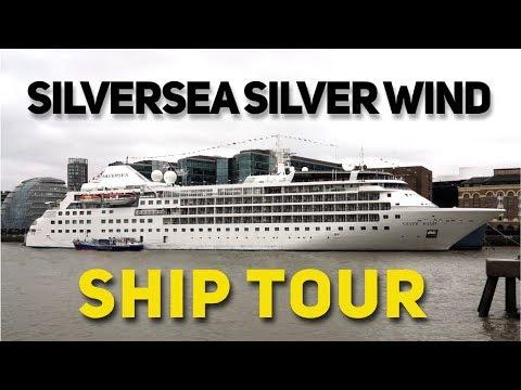 Silversea Silver Wind Ship Tour 2018 (4K)