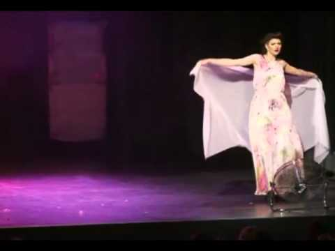Miss Burlesque Australia - Sina King Second Performance