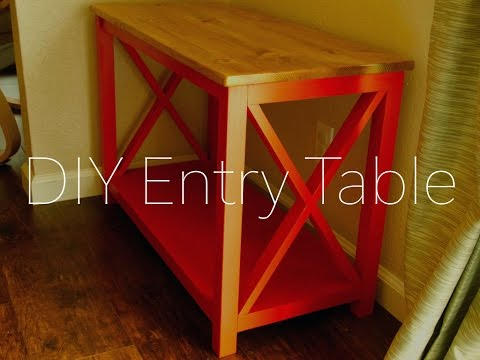 DIY Entry Table | Patrick Hosey