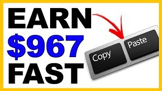EARN $967 OVER and OVER Pasting Links (Step by Step)
