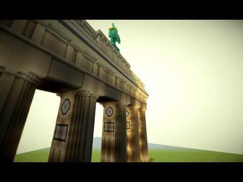 Brandenburger Tor / Brandenburg Gate Minecraft