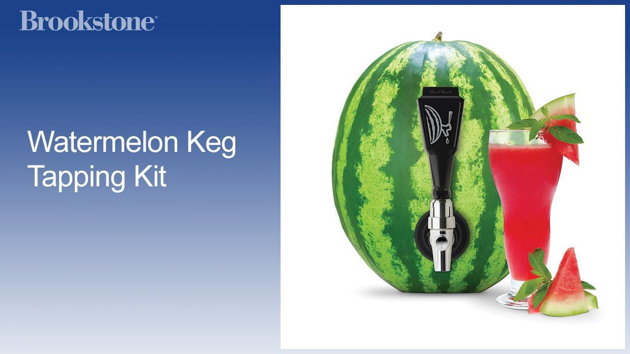 Watermelon Keg Tapping Kit - YouTube