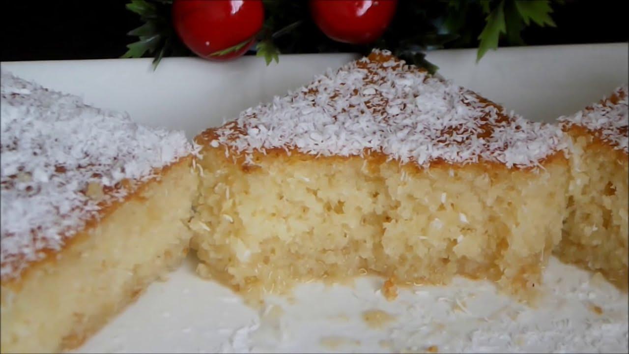 İrmik tatlısı nasıl yapılır - Kolay revani tatlısı tarifi - Şerbetli tatlı tarifleri