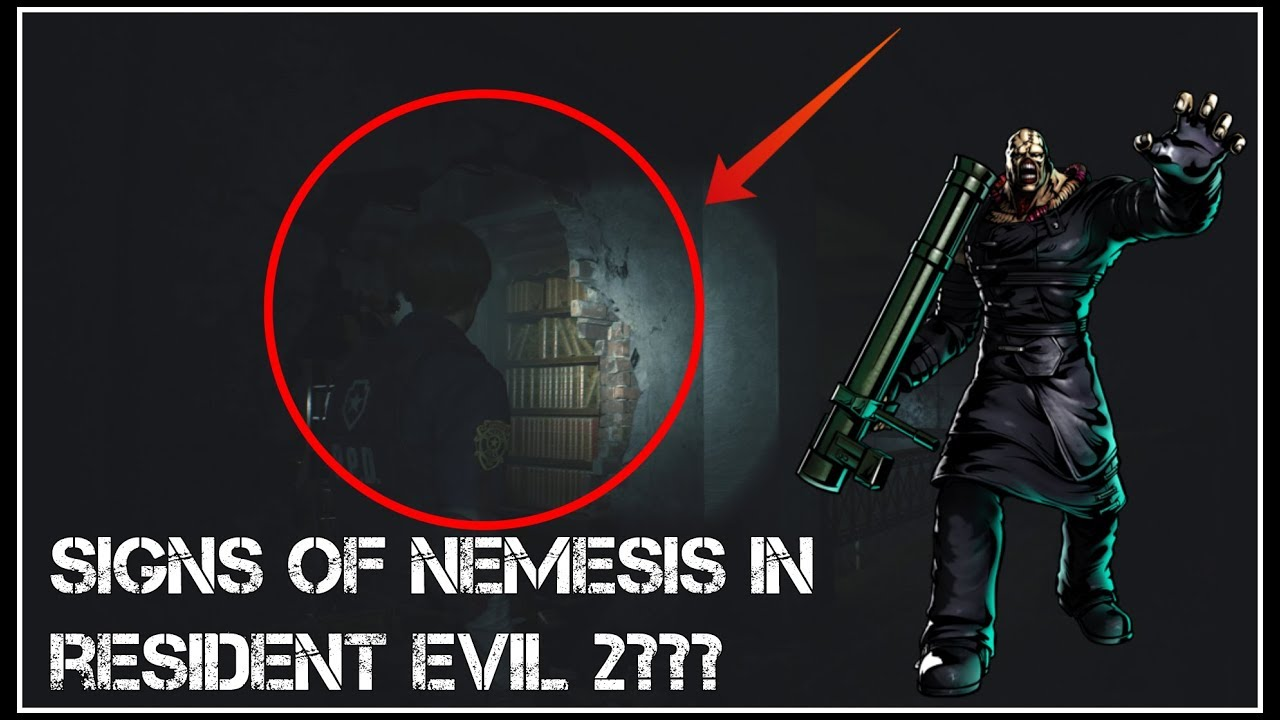 Signs Of Nemesis In Resident Evil 2 Remake My Theory