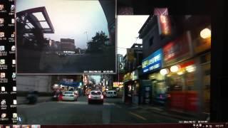 아이나비 G100_동영상 플레이어_이면도로