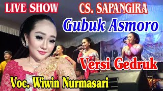 Gubuk Asmoro versi Gedruk Jaranan. Voc. Wiwin Duet Om Jreng. Live Show Campursari Sopongiro Blitar