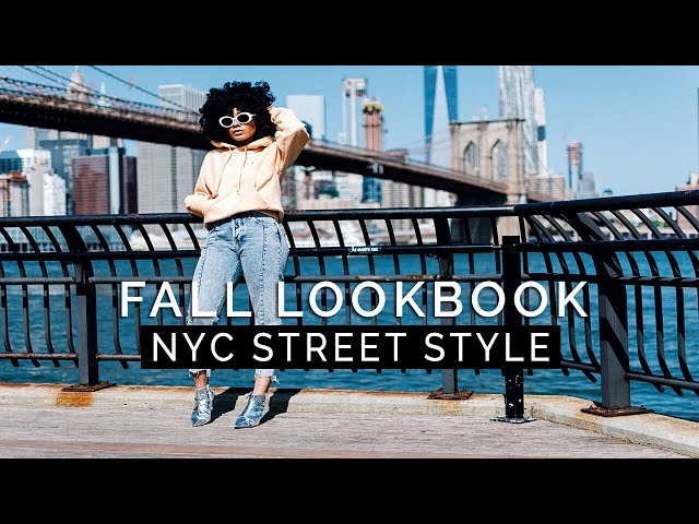 FALL LOOKBOOK 2017 || NYC Street Style