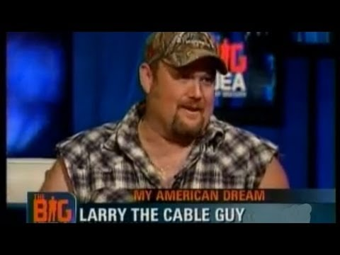Larry The Cable Guy Interview, Weighs in on Don Imus