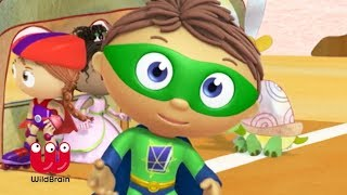 Super Why Episode | Race Day with Turtle | Learning For Kids