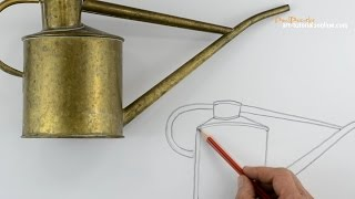 Start Drawing: PART 2  - Draw a Watering Can using shape