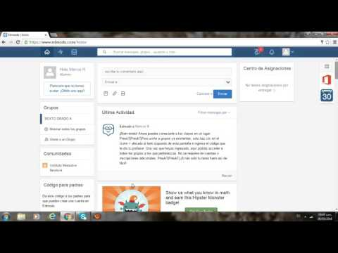 1 video tutorial edmodo
