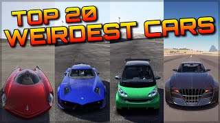 TOP 20 WEIRDEST CARS in FORZA HISTORY