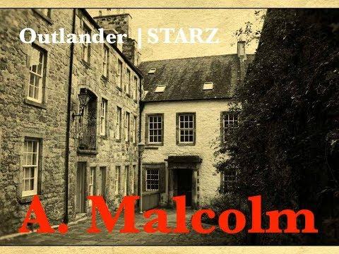 "Sneak Preview 'A. Malcolm' Outlander s03e06 ""The Print Shop"" Claire Reunites with Jamie"