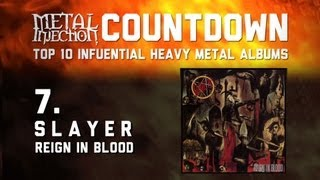 7. SLAYER Reign In Blood - Top 10 Influential Heavy Metal Albums on Metal Injection