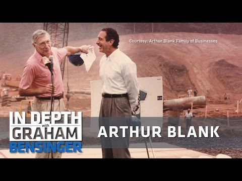 Home Depot founder Arthur Blank: My business approach