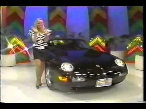 1992 The Price Is Right Clip Toni S Porsche In 3 Strikes
